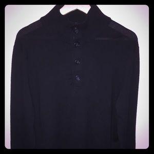 Collared Merino Wool Sweater
